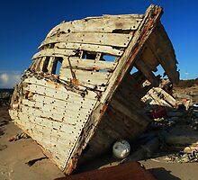 Shipwreck Beach by David Callahan