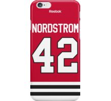 Chicago Blackhawks Joakim Nordström Jersey Back Phone Case iPhone Case/Skin