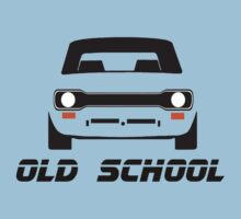 Ford Escort MK1 Men's Retro Car T-Shirt by ImageMonkey
