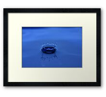 The crown of water Framed Print