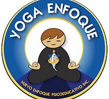 Yoga Enfoque Logo by aljavgar