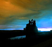 Whitby Abbey Blues by charlylou