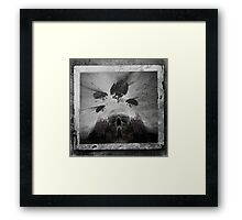 Don't Let The Dark Into Me Framed Print