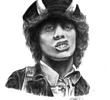 Angus Young by PsychoLunatic