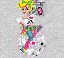 I love the 80's! Womens Fitted T-Shirt