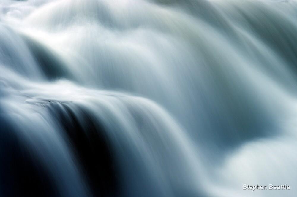 Fairfax Falls - Detail 2 by Stephen Beattie