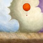 Balloon in the Colored Clouds by Tim Gorichanaz