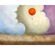 Balloon in the Colored Clouds Photographic Print