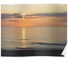 Atlantic Sunrise Poster