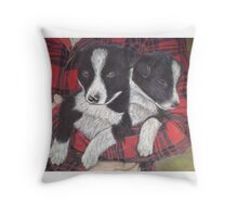 An Arm Full of Trouble Throw Pillow