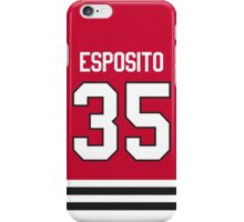 Chicago Blackhawks Tony Esposito Jersey Back Phone Case iPhone Case/Skin