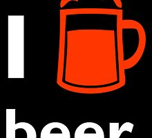 I Love Beer by uniquecreatives