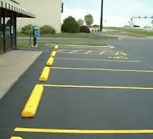 Asphalt Line Striping Madison Indiana by 1emp