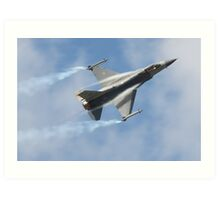 F16 Fighting Falcon Art Print