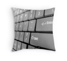 Keys to the world Throw Pillow