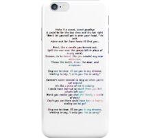 Lullabies iPhone Case/Skin