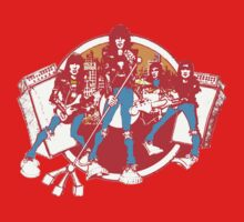 Rock Band T Shirt Kids Clothes