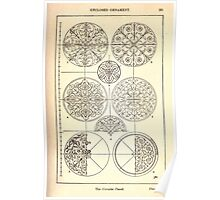 A Handbook Of Ornament With Three Hundred Plates Franz Sales Meyer 1896 0277 Enclosed Ornament Circular Panel Poster