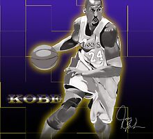 Kobe Bryant - Laker Legend by artmanfya