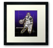 Kobe Bryant - Laker Legend Framed Print