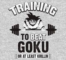 TRAINING TO BEAT GOKU by Ryan Jay Cruz