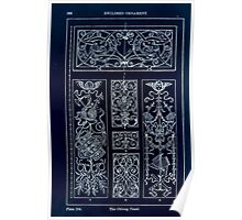A Handbook Of Ornament With Three Hundred Plates Franz Sales Meyer 1896 0282 Enclosed Ornament Oblong Panel Inverted Poster