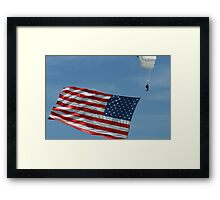 Long may it Wave!! Framed Print