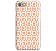 Womb Cancer Ribbons iPhone Case/Skin