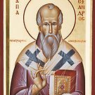 St Alexander of Alexandria by ikonographics