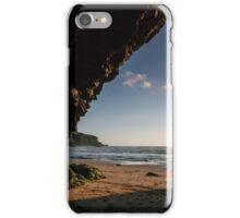 Sea Cave at Mawgan porth,North Cornwall iPhone Case/Skin