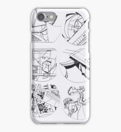 Symbolic M. (page to page) with PDD (11 to 16) iPhone Case/Skin