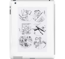 Symbolic M. (page to page) with PDD (11 to 16) iPad Case/Skin