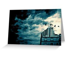 Stormy weather Greeting Card
