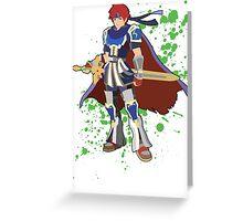 Roy - Super Smash Bros Greeting Card