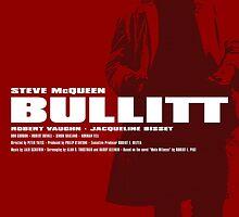 Bullitt - Movie Poster by 547Design