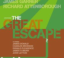 The Great Escape - Movie Poster by 547Design