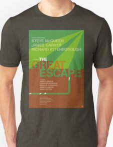 The Great Escape - Movie Poster T-Shirt