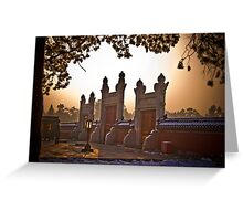 Entrance to the Circular Mound  Altar at the Heavenly Temple, Beijing Greeting Card