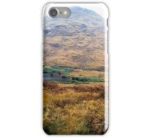Highland view near Loch Etive iPhone Case/Skin