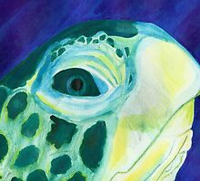 sea turtle by Leeanne Middleton