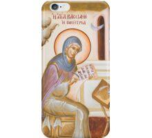 St Kassiani the Hymnographer iPhone Case/Skin