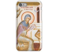 St Kassiani the Hymnographer iPhone Case/Skin