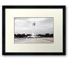 Quezon Memorial Circle monument 12 Framed Print