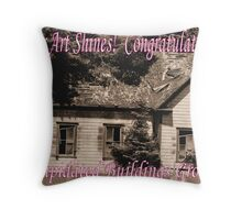 Dilapidated Buildings Group Throw Pillow