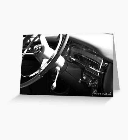 Classic Car 148 Greeting Card
