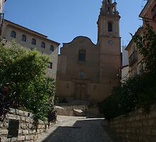 Finestrat Spain Church by Allen Lucas