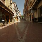 Denia, Spain Streetscape by Allen Lucas