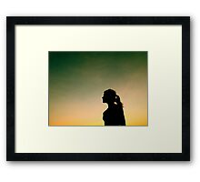Saying Goobye Framed Print