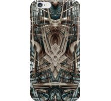 Futuristic sci fi building iPhone Case/Skin