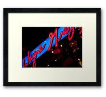 Wayne Gretzkey's Framed Print